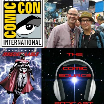 The Comic Source Podcast Episode 140 San Diego Sound Bytes; Peter Krause