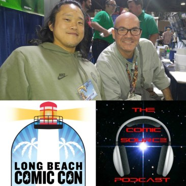 The Comic Source Podcast Episode 158 Mike Choi LBCC Interview