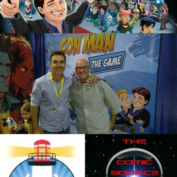 The Comic Source Podcast Episode 161 Nolan North LBCC Interview