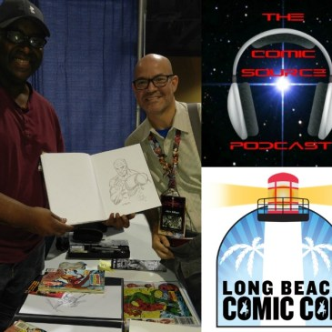The Comic Source Podcast Episode 164 Chuck Patton LBCC Interview