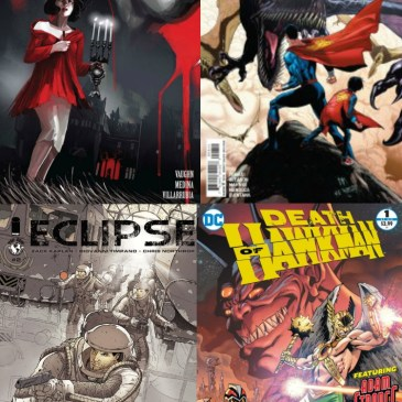 The Comic Source Podcast Episode 169 Eclipse #2, Romulus #1 and DC Rebirth for October 5th