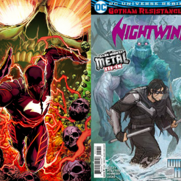 The Comic Source Podcast Episode 198 – Batman The Red Death #1 & Nightwing #29
