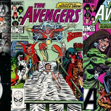 The Comic Source Podcast Episode 211 – Marvel Chronology Project Secret Wars Prelude Avengers #240-241