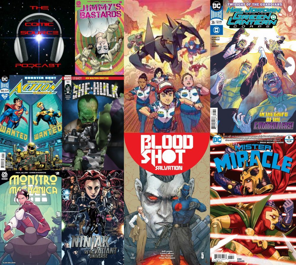 The Comic Source Podcast Episode 204 – New Comics Wednesday Jan 10, 2018