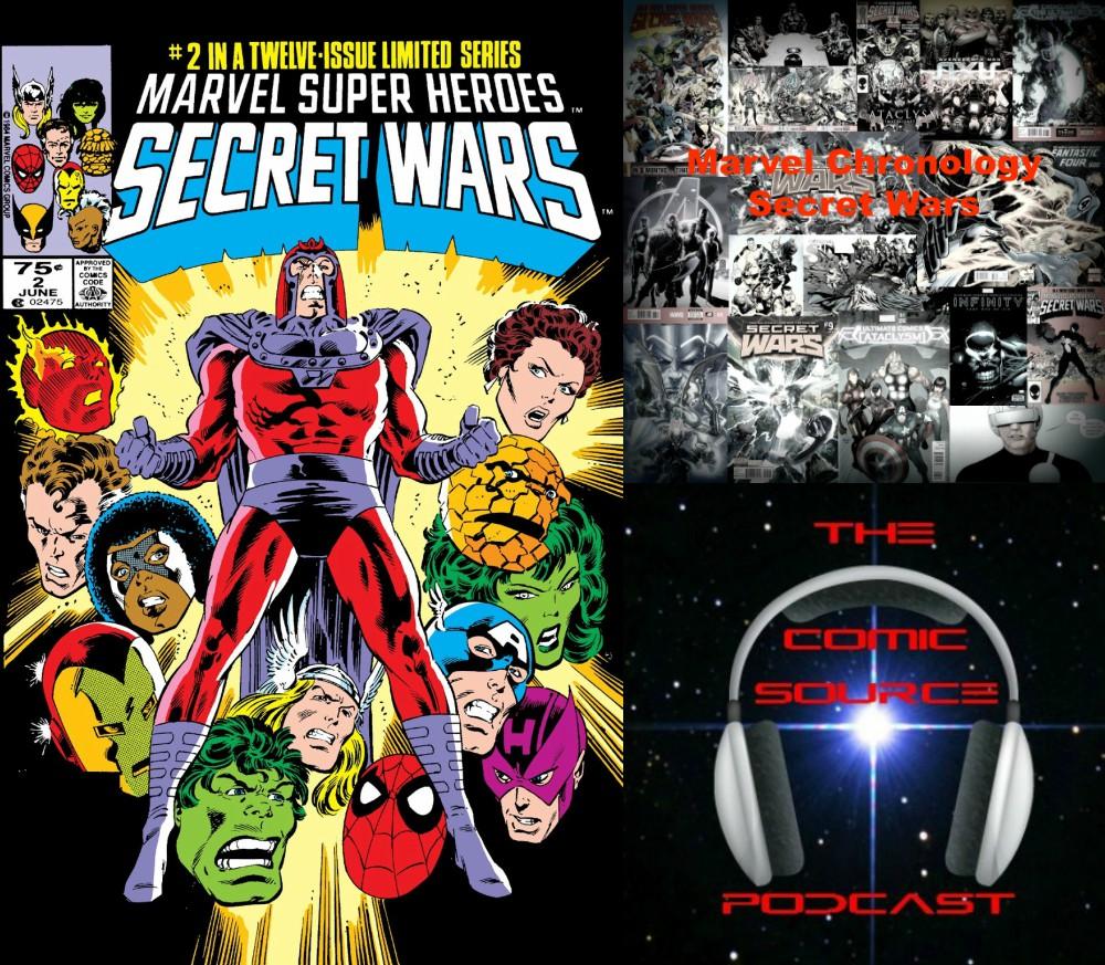 The Comic Source Podcast Episode 238 – Marvel Chronology Project – Secret Wars #2