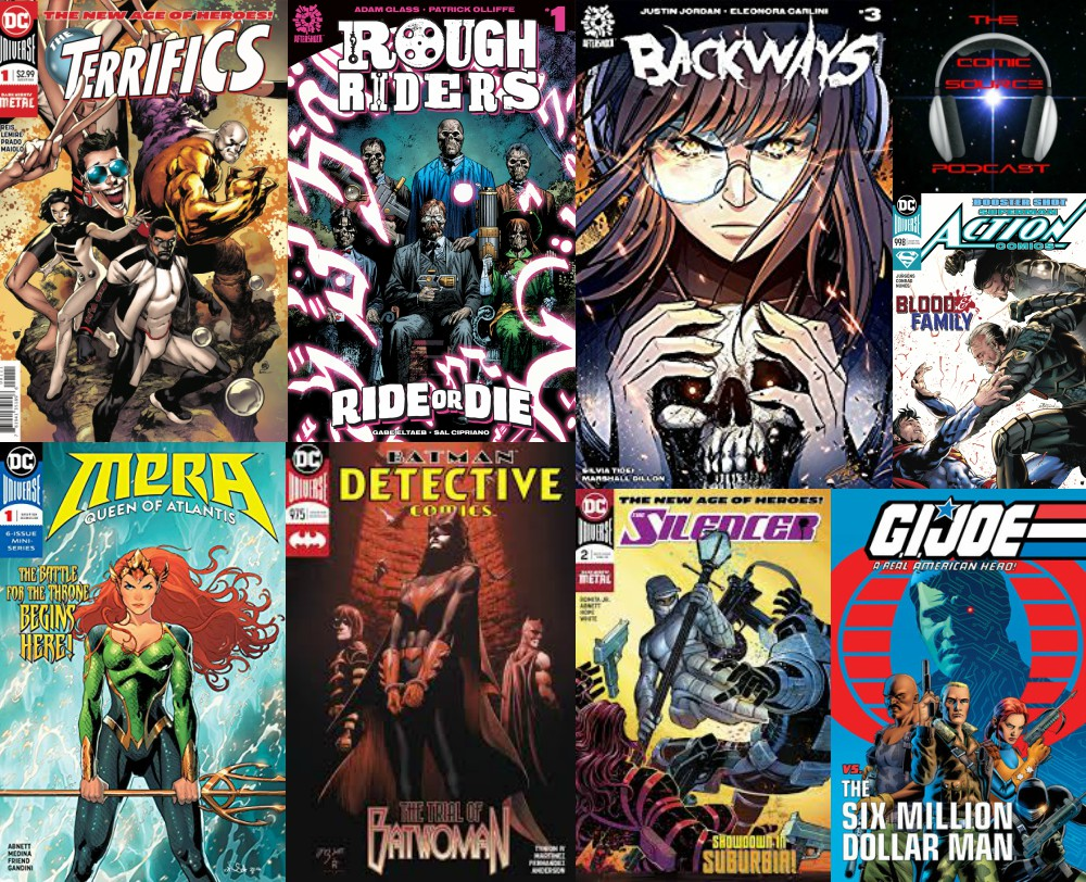 The Comic Source Podcast Episode 242 – New Comics Wednesday February 28, 2018
