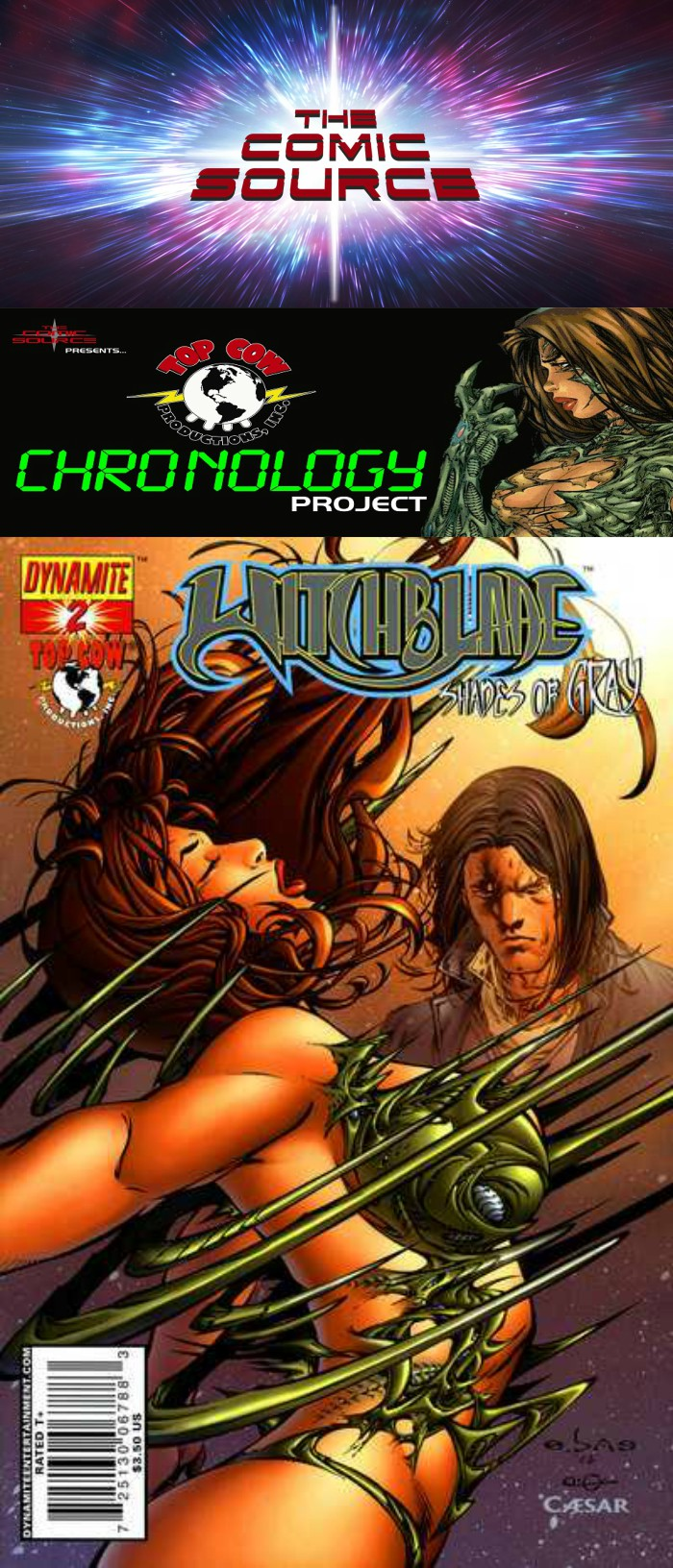 The Comic Source Podcast Episode 264 Top Cow Thursday – Chrono 54 Witchblade: Shades of Gray #2