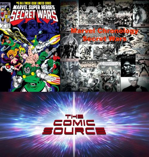 The Comic Source Podcast Episode 266 – Marvel Chronology – Secret Wars #6