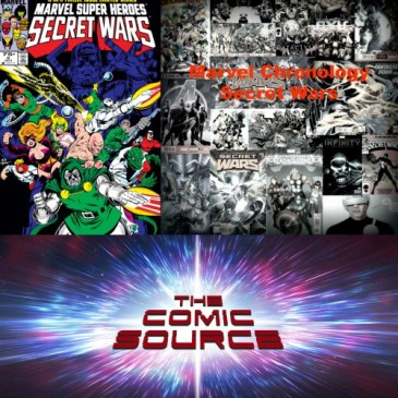 The Comic Source Podcast Episode 266 – Marvel Chronology – Secret Wars #6