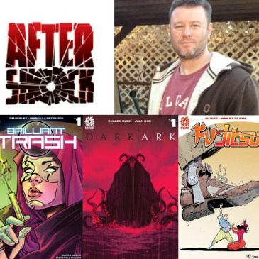 The Comic Source Podcast Episode 261- AfterShock Monday Flashback Spotlight on Mike Marts