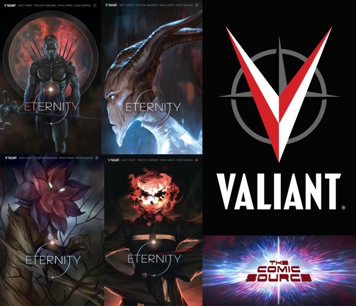 The Comic Source Podcast Episode 275 – Valiant Sunday – Eternity Spotlight