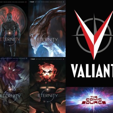 The Comic Source Podcast Episode 275 – Valiant Sunday – Eternity Spotlight