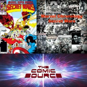 The Comic Source Podcast Episode 286 – Marvel Chronology – Secret Wars #9