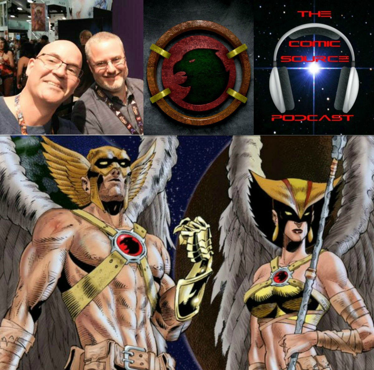 The Comic Source Podcast Episode 292 – Talking Hawkman with Robert Venditti