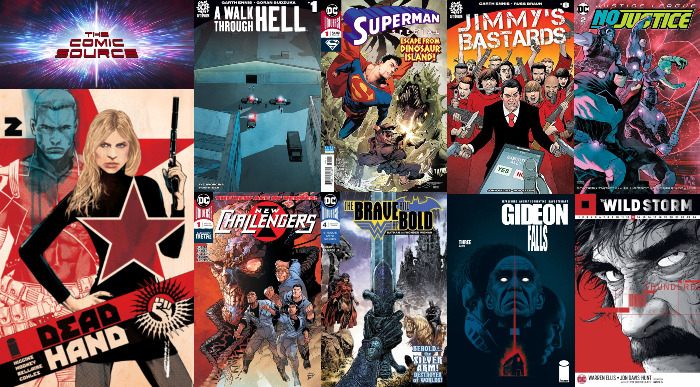 The Comic Source Podcast Episode 319 – New Comics Wednesday May 16, 2018