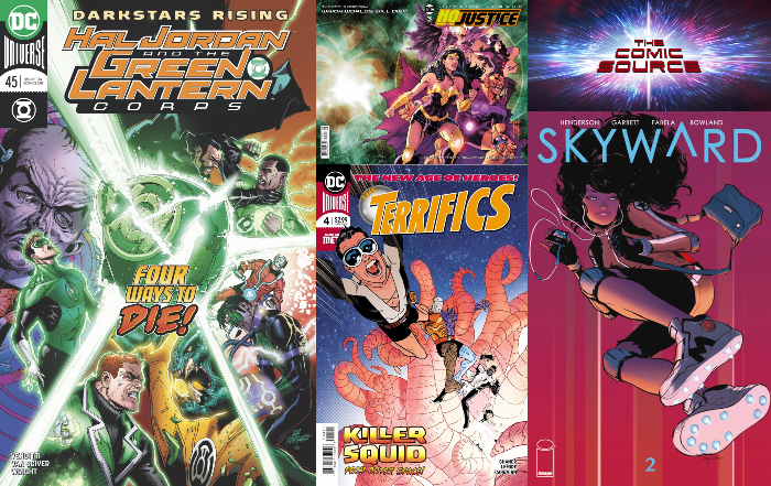 The Comic Source Podcast Episode 327 New Comics Wednesday May 23, 2018