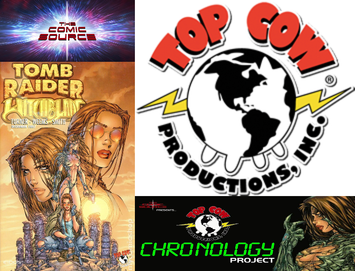 The Comic Source Podcast Episode 338 – Top Cow Thursday – Chronology 58 Tomb Raider/Witchblade #1