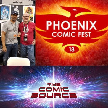The Comic Source Episode 349 – Phoenix Files with Jonathan Glapion