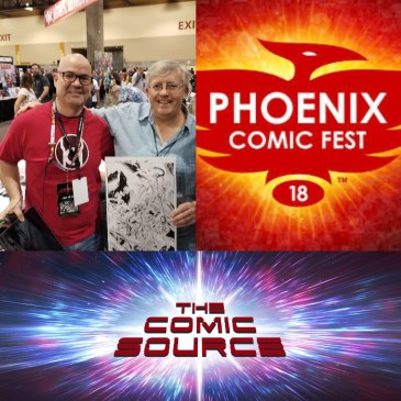 The Comic Source Podcast Episode 351 – Phoenix Files with Mark Farmer