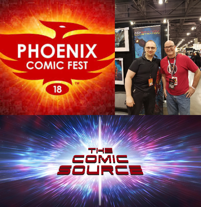 The Comic Source Podcast Episode 353 – Phoenix Files with Adi Granov