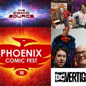 The Comic Source Podcast Episode 354 – DC News and Phoenix Files with Brain Azzarello, James Tynion IV and Joshua Williamson