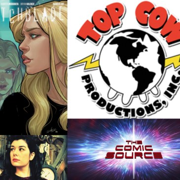 The Comic Source Podcast Episode 362 – Top Cow Thursday: Spotlight on Witchblade with Caitlin Kittredge