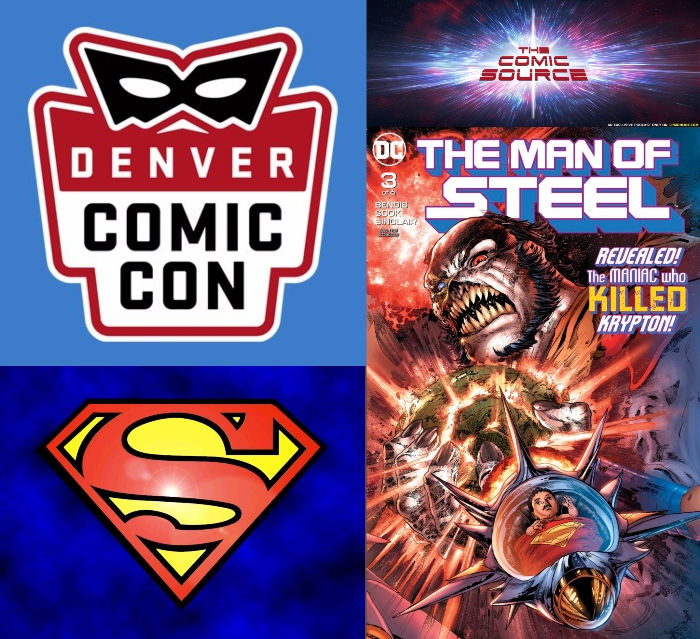 The Comic Source Podcast Episode 367 – Superman Sunday: Man of Steel #3