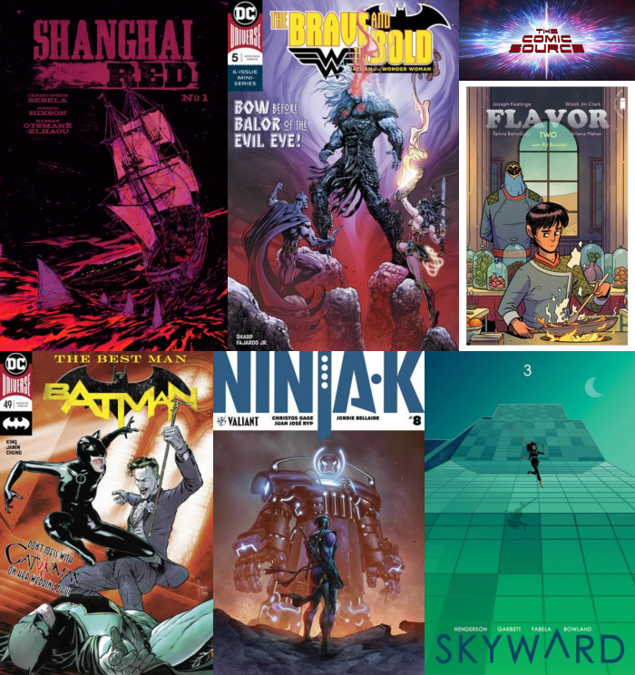 The Comic Source Podcast Episode 371 – New Comic Wednesday June 20, 2018