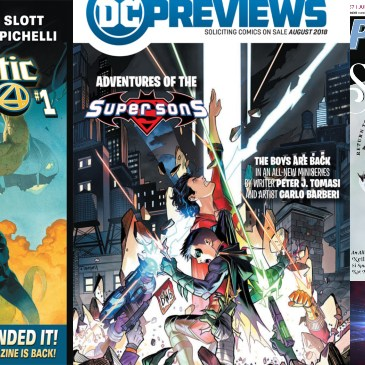 The Comic Source Podcast Episode 377 – Future Picks for August 2018