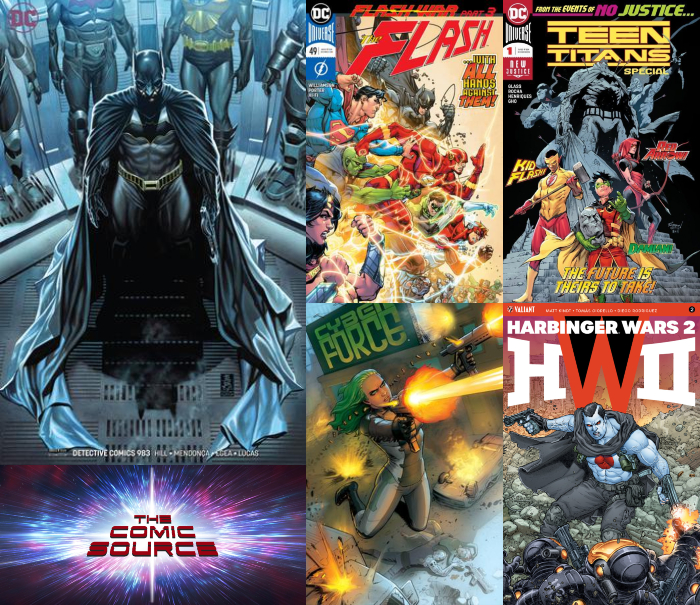 The Comic Source Podcast Episode 379 – New Comic Wednesday June 27, 2018