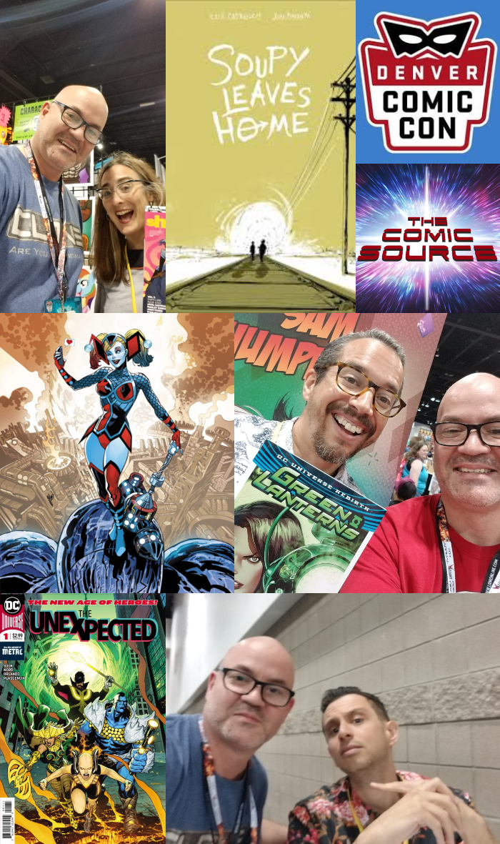 The Comic Source Podcast Episode 381 – Denver Clips with Cecil Castelucci, Sam Humphries and Steve Orlando