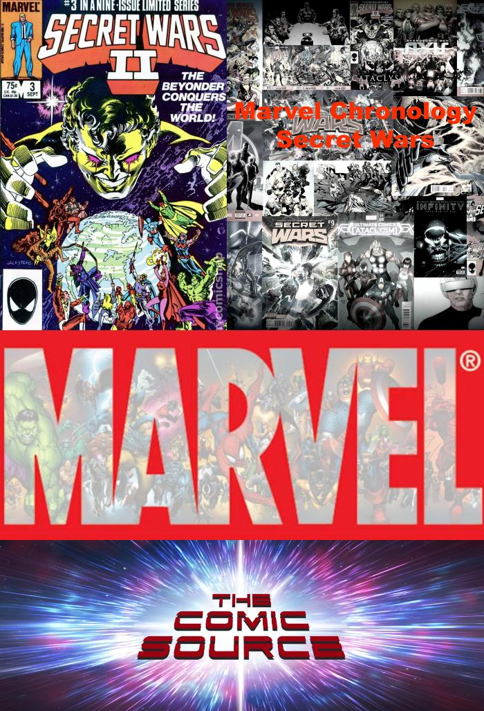 The Comic Source Podcast Episode 383 – Marvel Chronology Secret Wars II #3