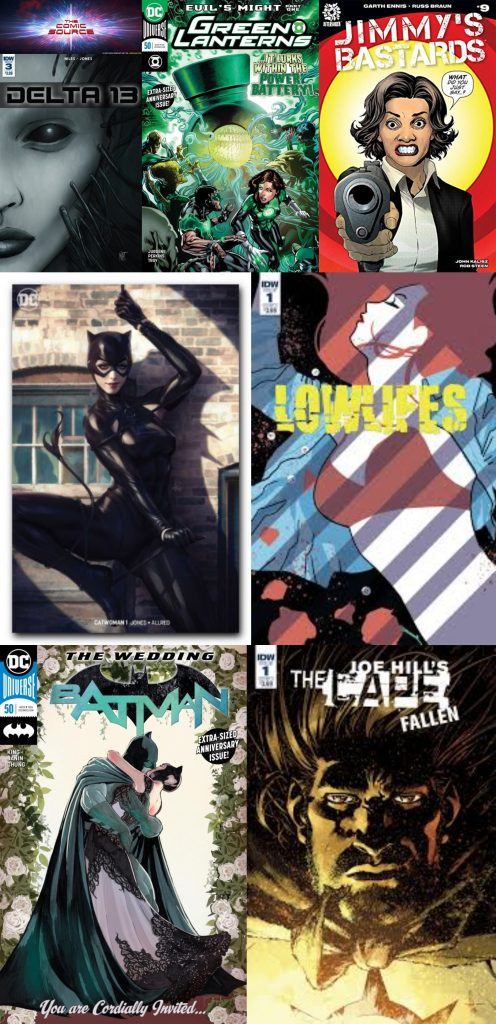 The Comic Source Podcast Episode 390 – New Comic Wednesday July 4, 2018
