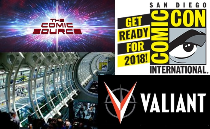 The Comic Source Podcast Episode 417 – Valiant Sunday: SDCC 2018 Panel