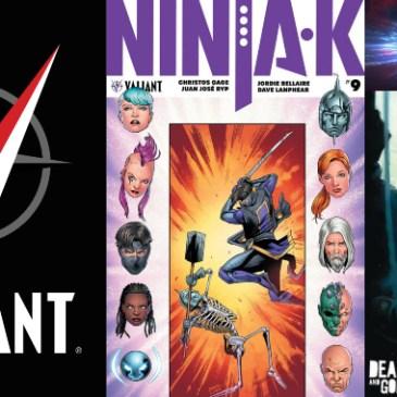 The Comic Source Podcast Episode 433 – Valiant Sunday: Ninja-K #9 & Shadowman #5