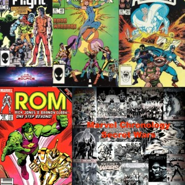 The Comic Source Podcast Episode 416 – Marvel Chronology: Secret Wars II #4 Tie-ins