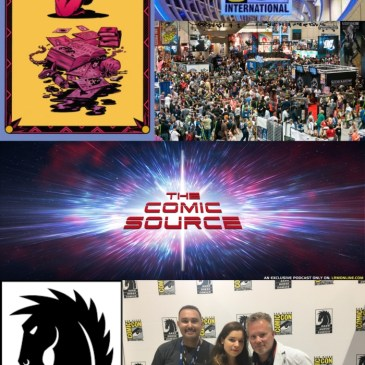 The Comic Source Podcast Episode 422 – San Diego Sound Bytes 2018: A Chat with Veronica and Andy Fish