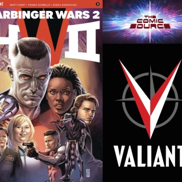 The Comic Source Podcast Episode 447 – Valiant Sunday: Harbinger Wars II #3