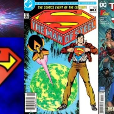 The Comic Source Podcast Episode 448 – Superman Sunday: Man of Steel – Bendis vs Byrne