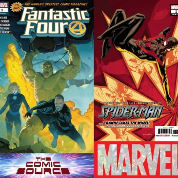 The Comic Source Podcast Episode 460 – Marvel Monday: Fantastic Four #1 & Spider-Man Annual #1