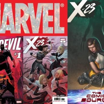 The Comic Source Podcast Episode 487 – Marvel Monday: X-23 #2-3 & Daredevil #1