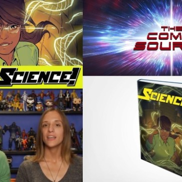 The Comic Source Podcast Episode 499 – Spotlight on Science!