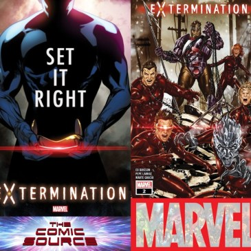The Comic Source Podcast Episode 509 – Extermination #2 Spotlight