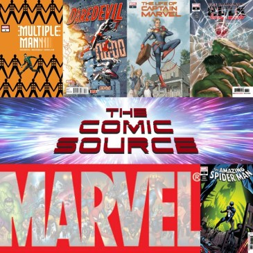 The Comic Source Podcast Episode 517 – Marvel Monday: Amazing Spider-Man Annual #1, Immortal Hulk #6, Life of Captain Marvel #'s 1-3, Multiple Man #'s 1-4, Daredevil #4
