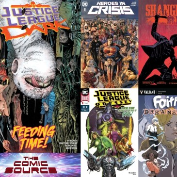 The Comic Source Podcast Episode 519 – New Comic Wednesday September 26, 2018