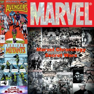 The Comic Source Podcast Episode 522 – Marvel Chronology: Secret Wars II #9 Tie-Ins