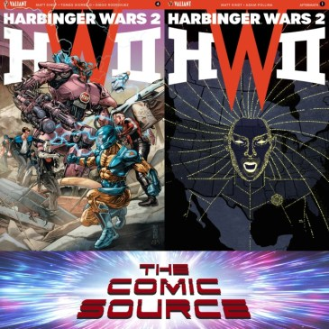 The Comic Source Podcast Episode 523 – Valiant Sunday: Harbinger Wars II #4 & Aftermath #1