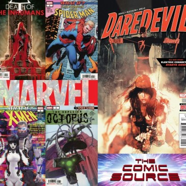 The Comic Source Podcast Episode 535 – Marvel Monday & A Quick Chat with Charles Soule NYCC 2018