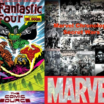 The Comic Source Podcast Episode 542 – Marvel Chronology Secret Wars III; Fantastic Four #318