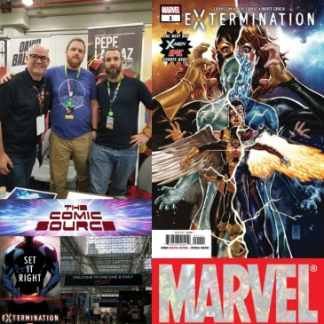 The Comic Source Podcast Episode 543 – A Chat with Ed Brisson and Pepe Larraz at NYCC 2018